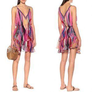 Camilla Crystal Embellished Mini Dress Folk River